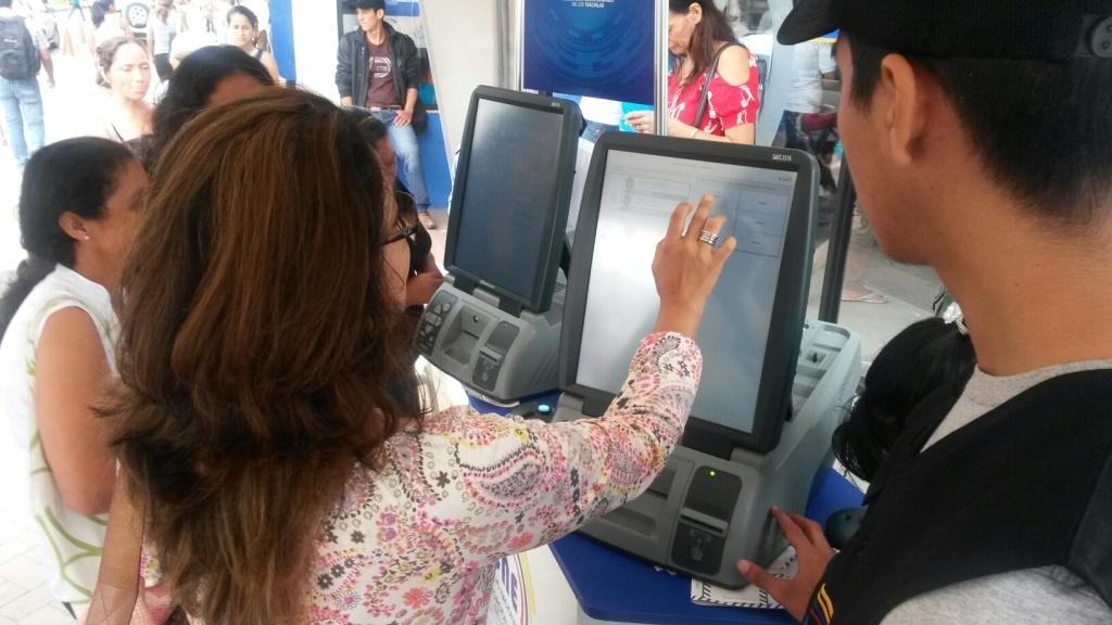 Voto Electrónico Ecuador